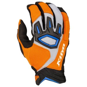 KLiM Dakar Glove - Orange/Blue