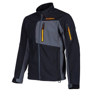 KLiM Inversion Jacket - Black Stripe Orange