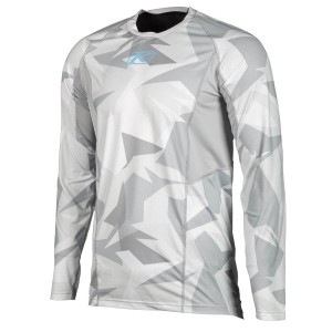 KLiM Aggressor Cool -1.0 Long Sleeve - Light Gray Camo