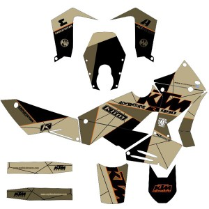 Hyena Decals KTM 950/990 ADV | MYTHICAL
