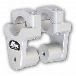 ROX 2'' Pivoting Risers for BMW R1200GS Watercooled (2013 and Newer)