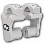 ROX 2'' Pivoting Bar Risers for 1 1/8'' Handlebar